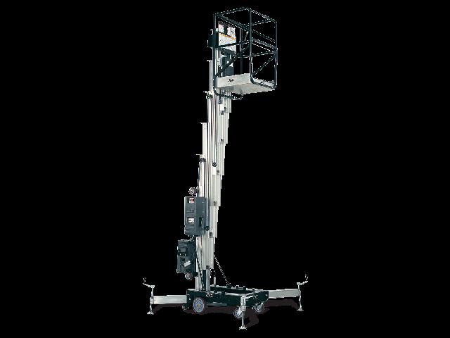 11米桅柱式高空作业平台