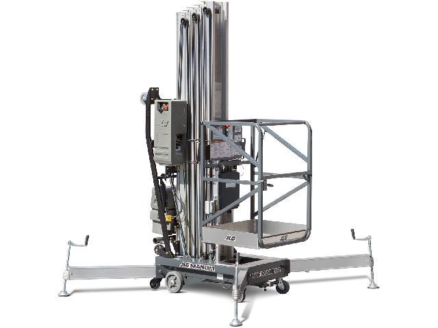 12米桅柱式高空作业平台